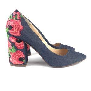 Jessica's Simpson Lannah Floral Heel Pump